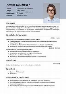 Lebenslauf Sample Curriculum Vitae Ibrizz Com