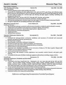 Plumbing Resume Samples Plumber Resume Example