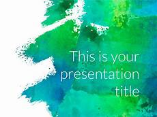 Powerpoint Thems Free Art Powerpoint Template Or Google Slides Theme