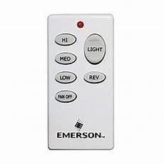 Emerson Uc8013r Fan Light Control Receiver Wall Control Wireless Premier Ceiling Fan Wall Control