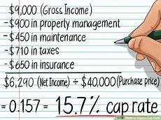 Calculate Cap Rate How To Figure Cap Rate Is It A Good Return Rate On Your