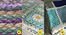 7 easy crochet blankets patterns for 2018
