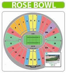 Rose Bowl Soccer Seating Chart Rose Bowl Stadium Tickets