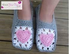 knot your nana s crochet cosy crochet slippers