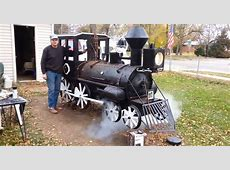 This Man Spent 3 Years Building An Awesome Train BBQ