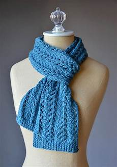 knitting scarves 9 fantastic free knitted lace scarf patterns