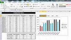 Column Chart Excel Eaf 8 Conditional Formatted Excel Column Chart Using If