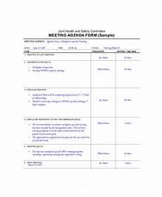 Microsoft Office Agenda Templates 12 Microsoft Meeting Agenda Templates Free Sample