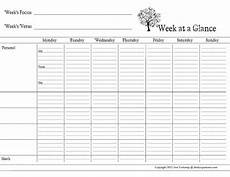 Day At A Glance Template Day Planner Printable Free Weekly Amp Daily Planner