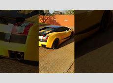 Sandile Shezi arrives in a Lamborghini   YouTube