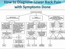 Back Diagnosis Chart Lower Back Guide