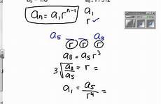 Geometric Formula Formula Geometric Sequence Youtube