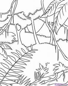jungle coloring sheets coloring page jungle