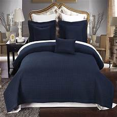 what will you get when choose size navy blue bedding