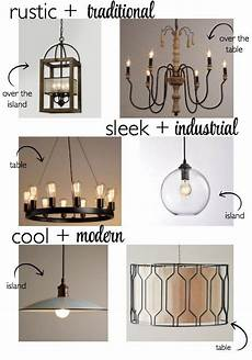 Coordinating Lighting How To Coordinate Lighting In Your Kitchen Island And