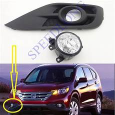 2012 Honda Crv Interior Light Bulb Replacement 1 Set Rh Without Bulb Front Bumper Fog Light With Cover