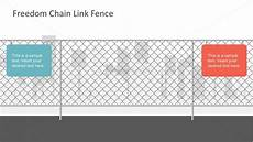 Chain Link Fence Gauge Chart Realistic Wire Chain Link Fence Free Powerpoint Vector