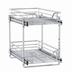 household essentials 174 glidez 2 tier sliding cabinet