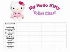 Hello Kitty Potty Training Chart Best Templates Hello Kitty Potty Chart