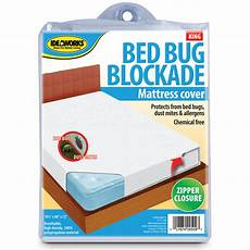 bed bug mattress cover bockade zipper dust mites allergens