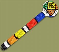 beadwork african beadwork beaded baton