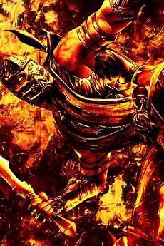 mortal kombat 11 iphone wallpaper mk scorpion iphone wallpaper