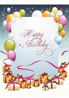 Free Birthday Cards Templates For Word Birthday Gift Card Template Printable World Of Reference