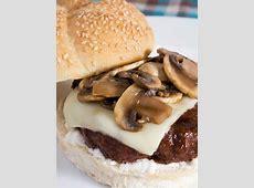 Mushroom Swiss Burgers   The Cooking Mom