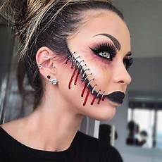 stitches makeup idea creepy makeup ideas