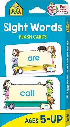 Flash Cards Words Sight Words Flash Cards Kool Amp Child