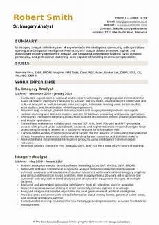 Clinical Writing Sample Imagery Analyst Resume Samples Qwikresume