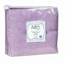 100 cotton throw blanket pack of 2 lilac throws