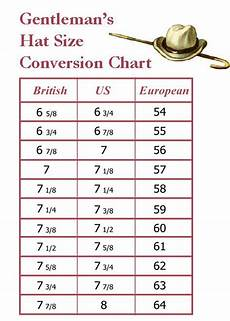 Famous Catalog Size Chart Men S Hat Size Conversion Chart Http Www