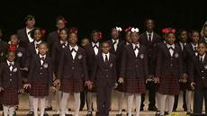 Detroit Academy Of Arts And Science Detroit Academy Of Arts And Science Choir Perform At Wayne