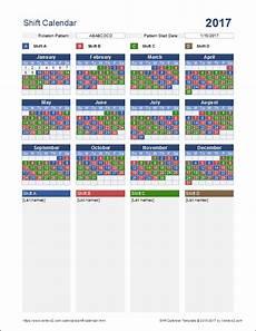 Shift Calendar Shift Calendar Template