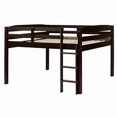 camaflexi concord cappuccino size junior loft bed