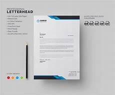 Creative Letterhead Samples Modern Letterhead Stationery Templates Creative Market