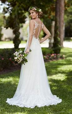 illusion lace french tulle wedding dress stella york