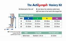 Activa Compression Socks Size Chart Compression Hosiery Sizing And Measuring L Amp R Formerly