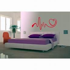 wall stickers da letto sta digitale sticker quot cuore quot total print