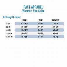 Pact Size Chart Organic Sustainably Certified Women Girl Past Wrap Dress