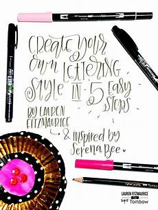Design Your Own Online Lettering Create Your Own Lettering Style In 5 Easy Steps Tombow