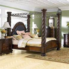 millennium shore california king canopy bed value