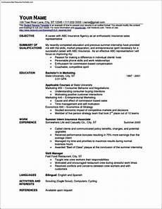 Quick Resume Free Quick Resume Templates Free Samples Examples Amp Format