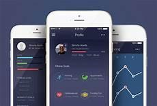 App Ui Free Fitness App Ui Kit Psd Graphicsfuel