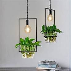 Plant Wall Lighting Hanging Plant Box Frame Pendant Light 60w Cage Ceiling