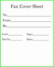 Free Printable Fax Sheet Fax Cover Sheet