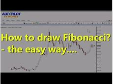How To Draw Fibonacci In Easy Way! Forex Trading   YouTube