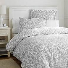 Light Grey Textured Duvet Cover Damask Duvet Cover Sham Light Gray Pbteen