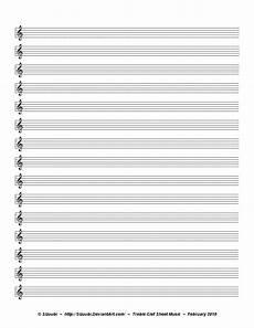 Blank Sheet Music Bass Clef Music Sheet Treble Clef By Sizuubi On Deviantart
